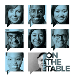 On The Table graphic courtesy of Chicago Community Trust